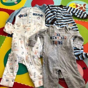 Carter's 6m pajamas bundle